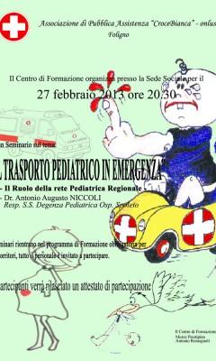 Trasporto Pediatrico in Emergenza